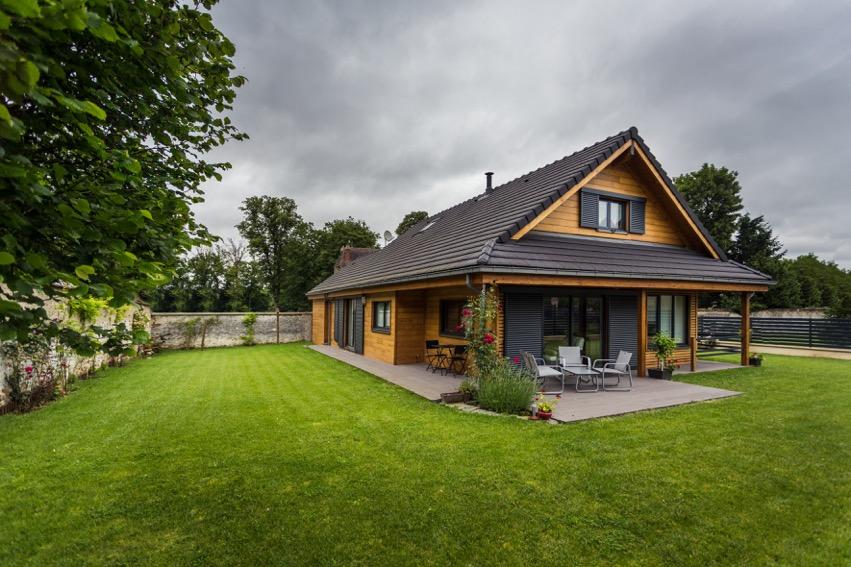 constructeur maison en bois en île de france
