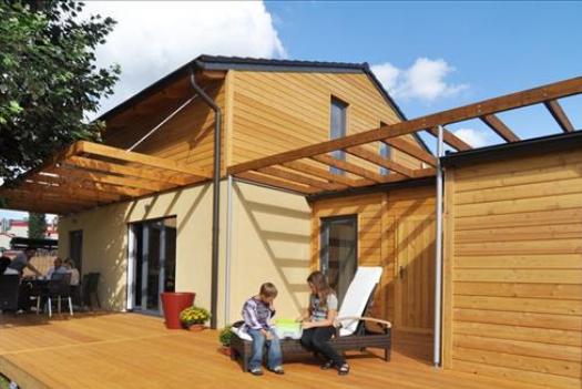 constructeur maison bois ile de france